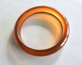 Apple Juice Bakelite Bangle