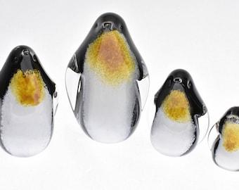 Studio Art Glass Penguins