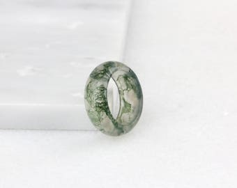 Moss Agate Ring, Green Moss Ring, Nature Rings, Moss Green Ring, Moss Ring, Giftable Agate Ring , Signature Ring , Nature Inspired Ring