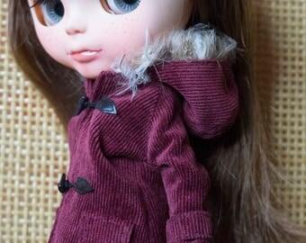 Cotton corduroy coat.