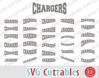 Chargers svg, Chargers layouts, Chargers cut file, Chargers mascot, EZ Layouts, svg, eps, dxf, Silhouette, Cricut cut file, Digital download