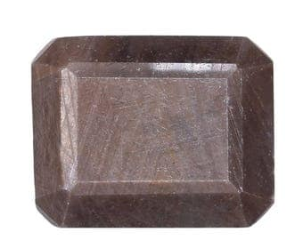 Chocolate Sapphire Loose Gemstone Cushion Cut 1A Quality 8x6mm TGW 1.60 cts.
