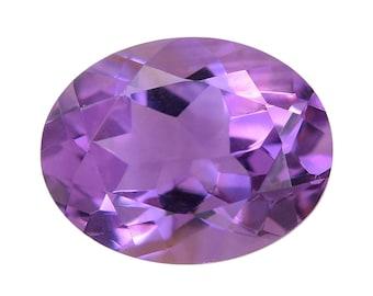 Bolivian Amethyst Oval Cut Loose Gemstone 1A Quality 9x7mm TGW 1.20 cts.