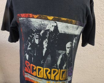 Size L (47) ** Scorpions 1994 Tour Shirt (Double Sided)