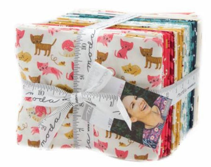 Woof Woof Meow by Stacy Iset Hsu for Moda Fat Quarter Bundle 33 Pieces Includes 2 Panels