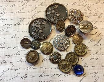 Vintage Victorian Buttons (Lot #1)