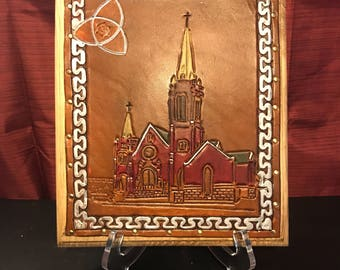 """St. Mary Cathedral (Colorado Springs, CO) 8"""" x 9"""""""