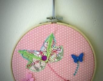 Picture-story textile medium garden magic