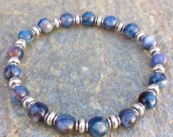 Kyanite Bracelet / kyanite beads