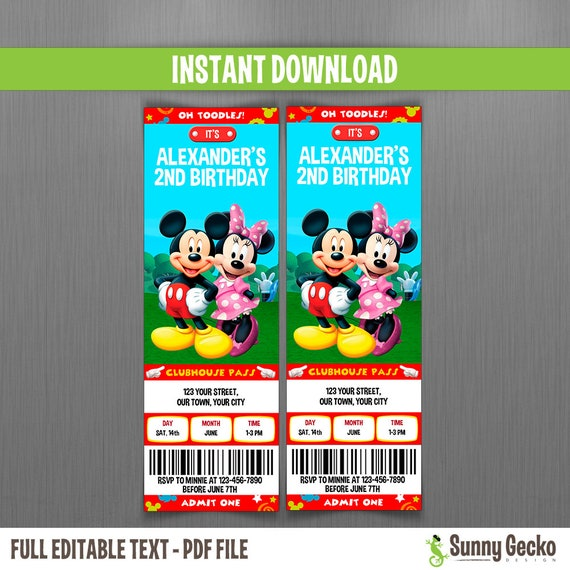 Disney Mickey Mouse Minnie Mouse From Mickey Mouse Clubhouse