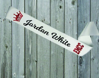 WHITE SASH Custom Crown