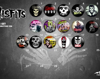 Collection sheets Misfits / / Misfits button collection