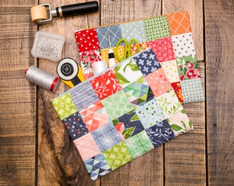 Zipper Bags | Quilted | Large and Small Sizes Available