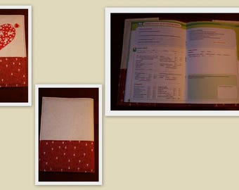 Notebook protect health red heart