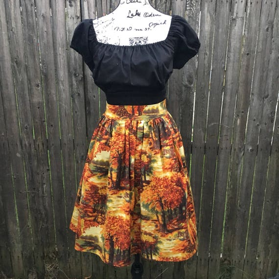 Autumn Foliage Skirt