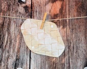 Pick the length - Small/Medium/Large/XL Pad – Basket Wave - cotton