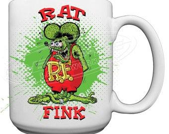 Rat Fink Large 15 oz. Coffee Mug