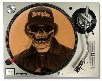 Turntable Slipmat - Eazy E NWA Cork turntable mat - DJ Slip mat