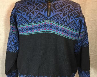 Vintage Dale of Norway Scandinavian Large Men's Sweater