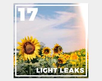 20 Light Leaks Lightroom Presets