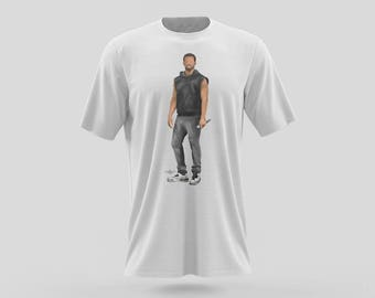 Drake T-Shirt Typography Design on Black or White Shirt. OVO Rapper and Singer from Young Money Cash Money Records Drizzy Drake, Lil Wayne.