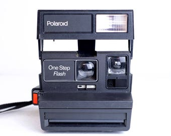 Polaroid One Step Flash Instant Camera - Fully Functional
