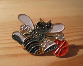 Vintage Charlotte Hornets 1989 NBA Lapel/ Hat Pin