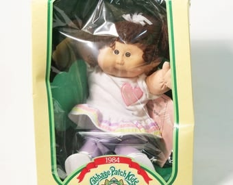 Vtg 1983 Coleco Cabbage Patch Kid Doll Candace Octavia with Papers