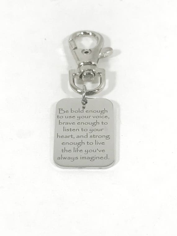 Encouragement Gift, Luggage Bag Zipper Pull, Son Gift, Backpack Zipper Pull, Motivating Daughter Gift, Graduation Gift, Encouraging Gift
