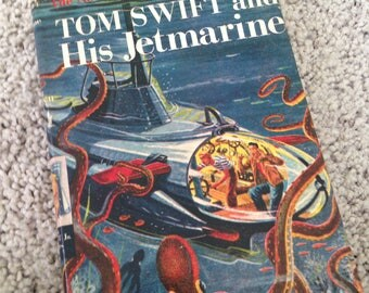 Tom Swift and his Jetmarine by Victor Appleton II 1954 First Edition