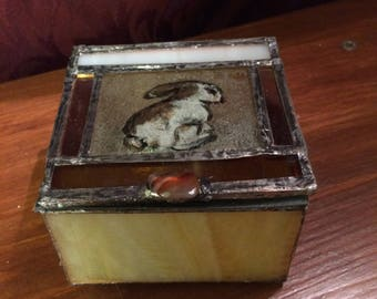 Stain glass box
