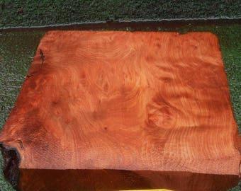 BL516  Wood turning Block/Blank  Redwoodburl craft wood