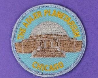 The Adler Planetarium Chicago Vintage Patch