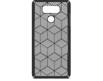 LG Case Geometric Squares LG G3 Case LG G4 Case Phone Case lg phone case g4 case g3 case Phone Cover geometric phone case artsy phone case