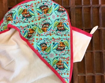 Baby Towel and Mitt- Organic US Cotton