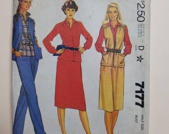McCall's Pattern Size 22.5  #7177