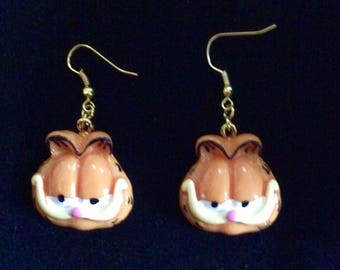 Garfield Cat Earrings