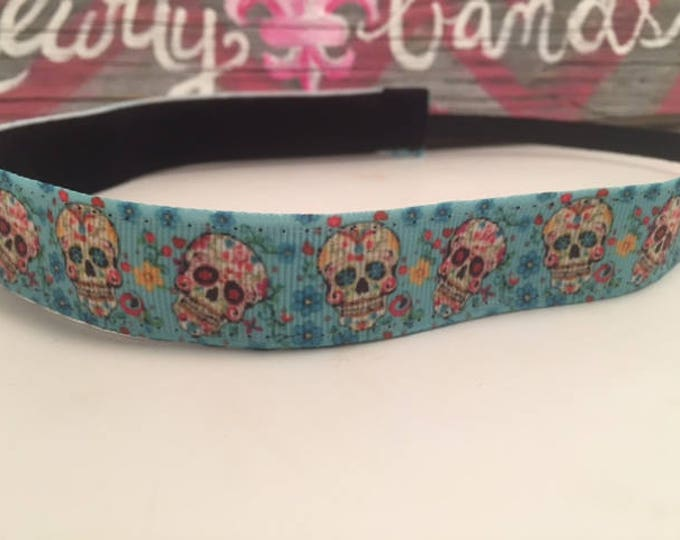 Nonslip Headband Sweet Skulls