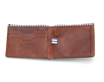 Leather Wallet // Men's Leather Wallet // Billfold