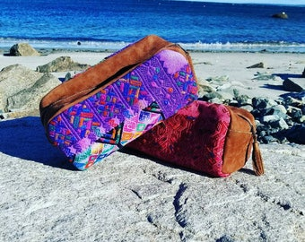 Large Toiletry Bag/Travel Bag/Cosmetics Bag/Toiletry Bag/HandMade/Guatemala/Gift for Her/Dopp Kitt/Dopp Kit for Her/BOHO