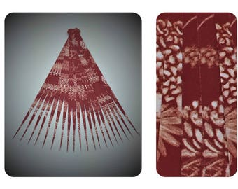 Paper Bead Strips Make Paper Beads Paper Bead Roller Quilling Tools Paper Bead Kit Red DIY Paper Bead Strips for Jewelry Supplies (H7057)