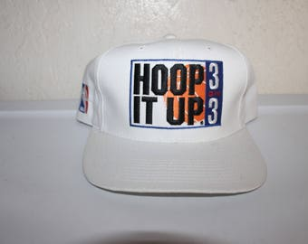 Vintage 90's Hoop it Up 3on3 Snapback by Sports Specialties