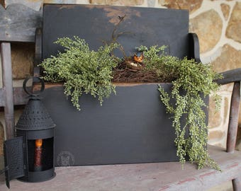 Farmhouse Box/ Primitive/ Rustic