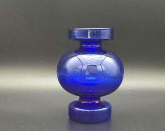 """Ingrid glasshütte  Vintage 1970s  Pop Art ,,bubble design """" Glass Vase West Germany."""