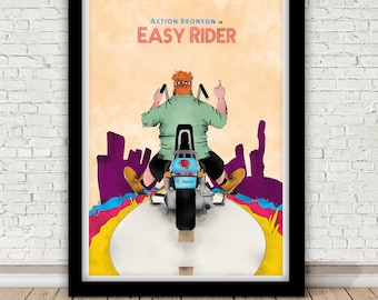 Action Bronson - Easy Rider poster - 2015