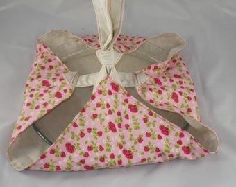 SacT006 - Strawberry pie pattern bag