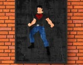 Minimalism Art - Superboy...