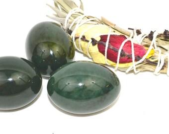 Nephrite Jade Yoni Eggs | Yoni Egg | Jade Egg | GIA Certified Jade  | Kegel Weight | Vaginal weights | Jade Eggs | Vaginal Stone | Kegel Egg