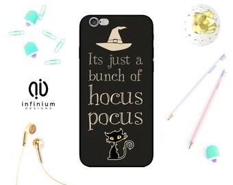 Hocus Pocus Case For iPhone 7, Samsung S8, S8 Plus, S7, Samsung J5, Galaxy J3, A3, A5, Core Prime, 7 Plus, iPhone 6S, SE, 5S & Touch 6