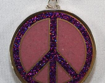 Peace on Rhodocrosite